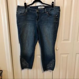 Torrid skinny jeans. Size 20.
